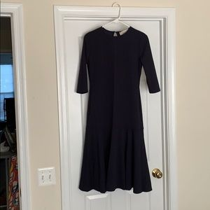 Navy Blue Dress, Stretch